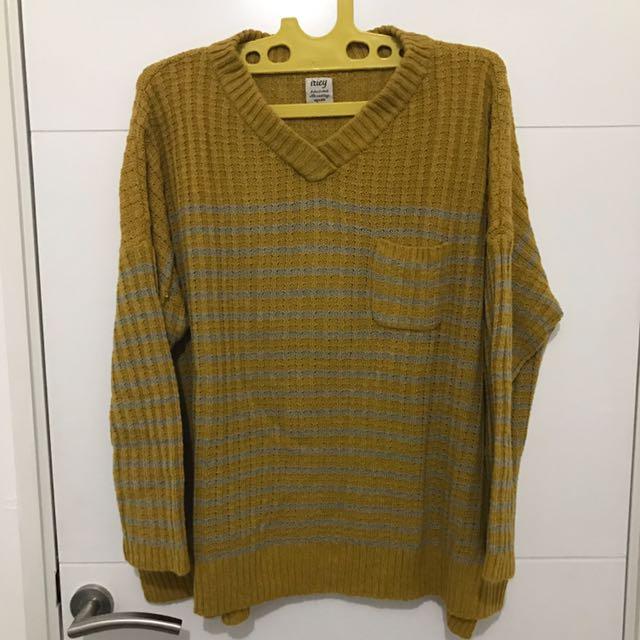 Sweater Kuning Besar