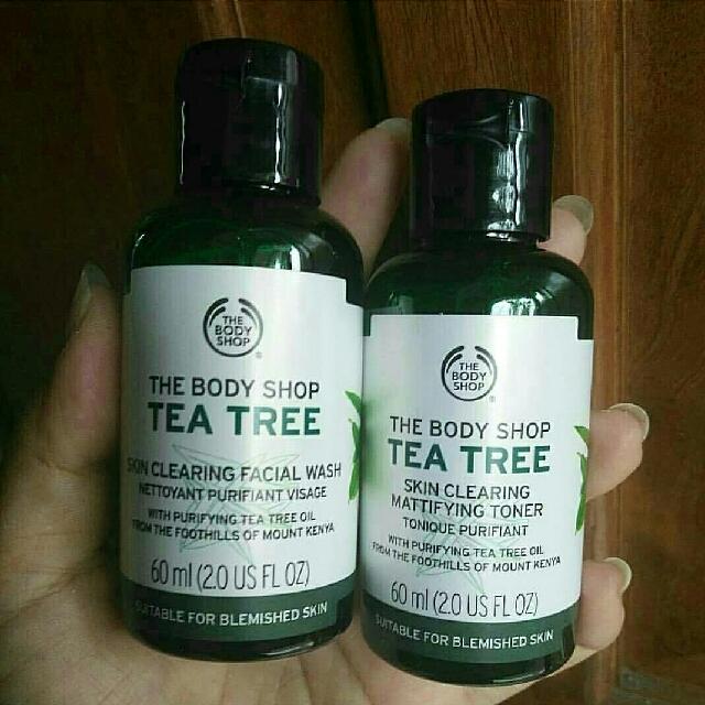 TEA TREE THE BODY SHOP