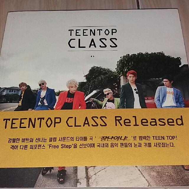 Teen Top Class