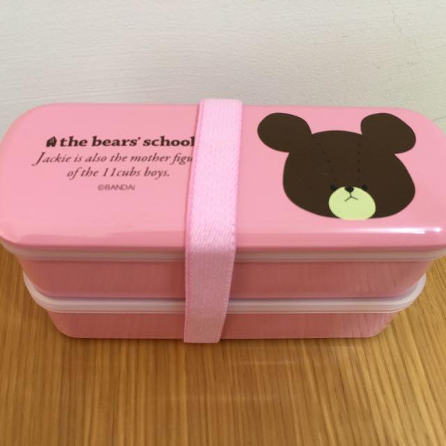 小熊學校the bears' school餐盒