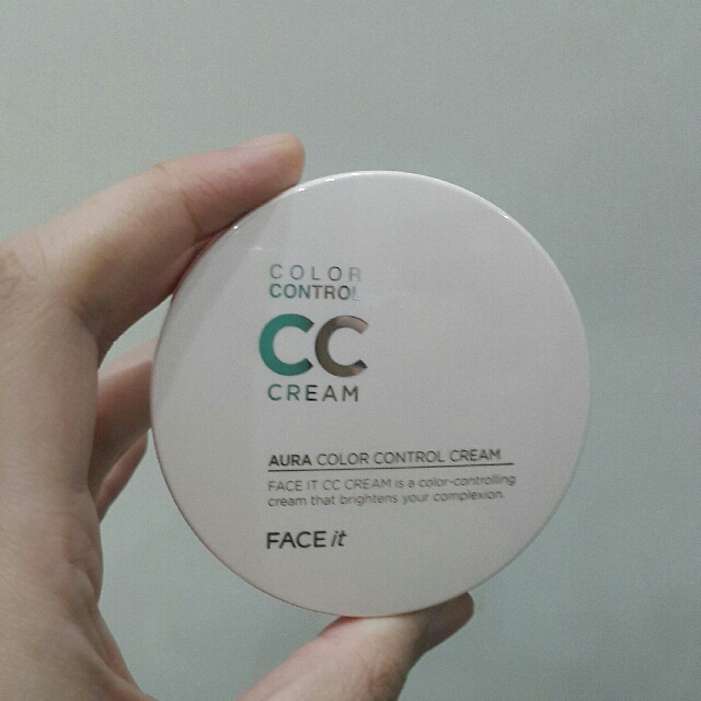 The face shop color control cc cream (case)