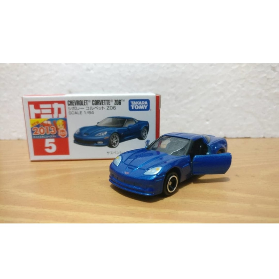 Tomica 05 Chevrolet Corvette Z06 Toys Collectibles