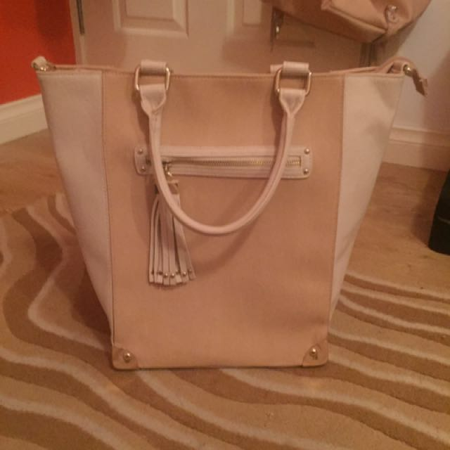 Tote Bag New Unworn Large Beige Nude