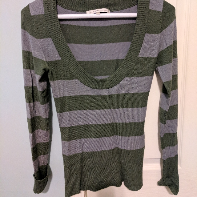 Urban Behavior Striped Sweater