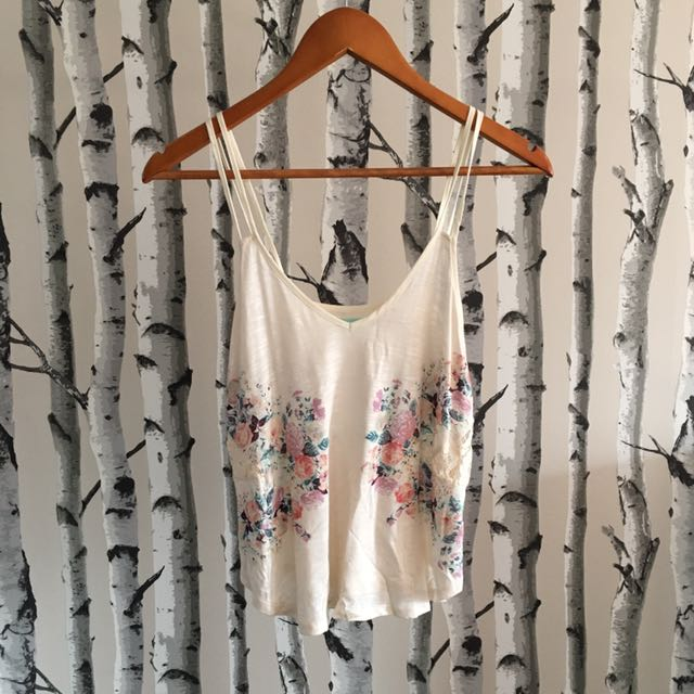 Urban Outfitters Floral Tank (XS)