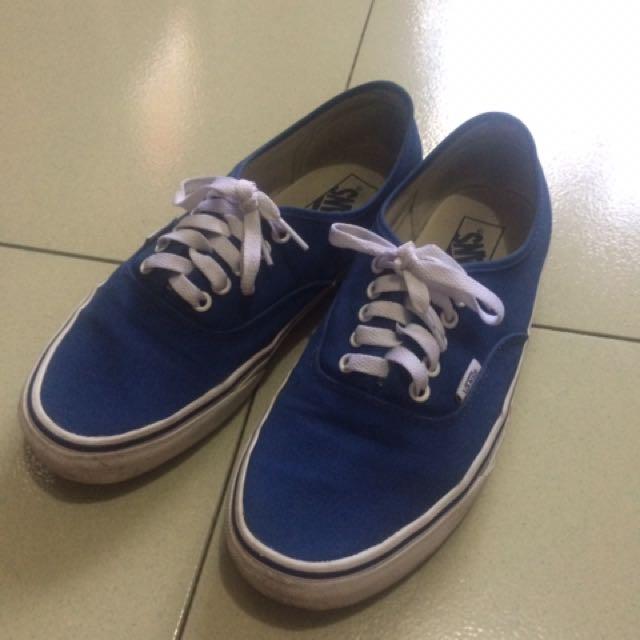 Vans Authentic Pop Check Blue print   true blue 100% ori. 08772f016e