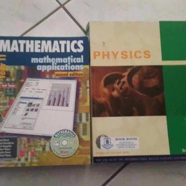 Variety Of IB And SACE TEXT BOOKS AND WORK BOOKS