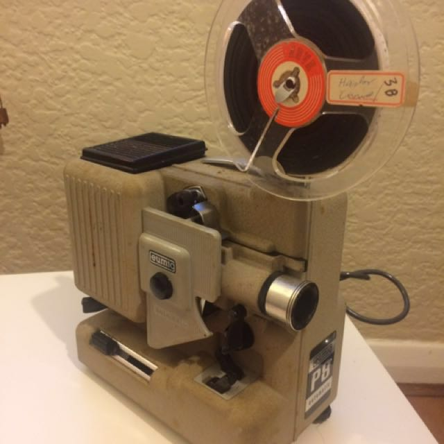 Vintage Projector Eumig P8 Automatic