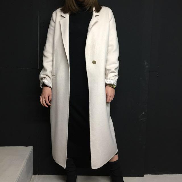 WITCHERY Oversized Wool Coat S10