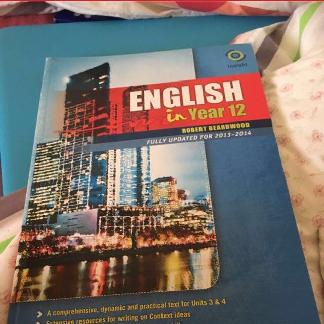 YEAR 12 ENGLISH INSIGHT TEXTBOOK