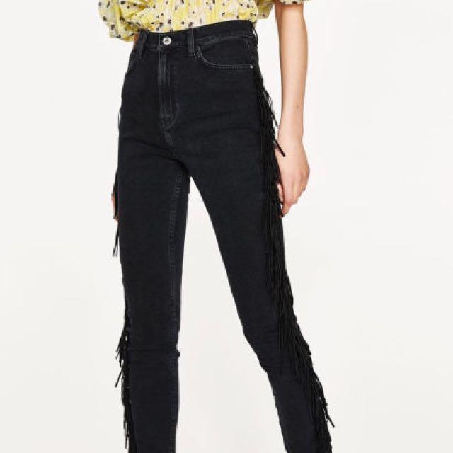 Zara Funky Fringe Jeans
