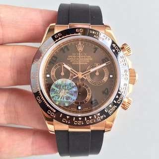 瑞皇名錶 MTR面交 JF出品 daytona 116515LN 40mm 116515 啡面