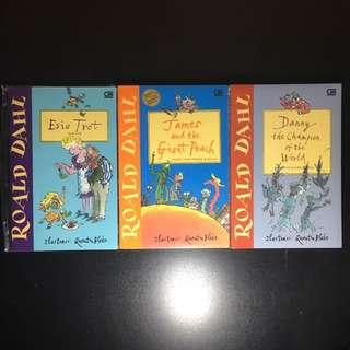 Roahl Dahl Books