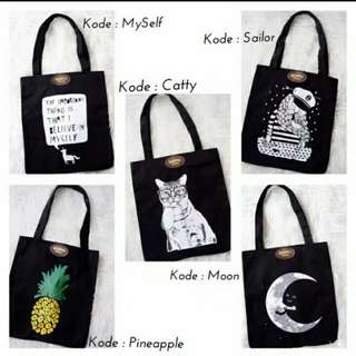 Octopus Project Totebag
