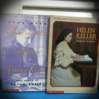 Hellen Keller Book Bundle