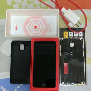 Oneplus 3T Gunmetal 64GB (Used) - Very Good Condition - OxygenOS 4.1.7. Comes with box, adapter+cable, BlackDragon Dbrand skin + 1 spare dragon skin + 1 case.