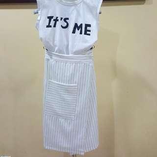Korean Wrap Skirt
