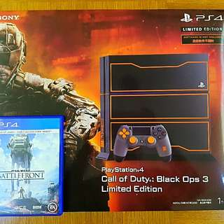 PS4 1TB CALL OF DUTY: BLACK OPS 3 LIMITED EDITION