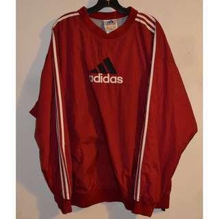 VTG Adidas Pullover Jacket Size XL