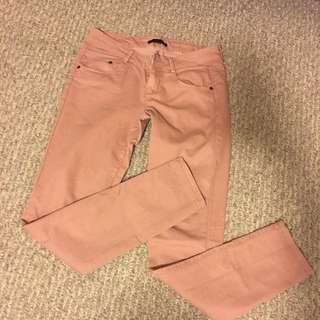 Forever 21 Rose Blush Pants