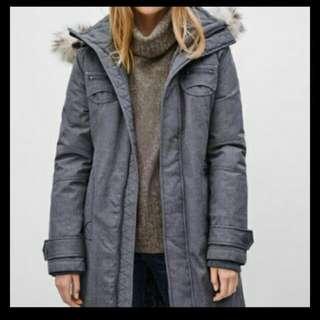 Tna Grey Winter Coat