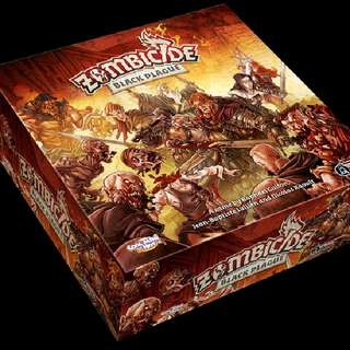 (sleeved) Zombicide: Black Plague
