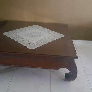 Solid wood coffee table *BIG
