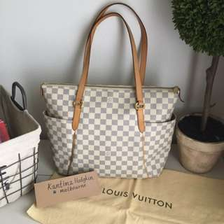 🔴Price Drops🔴AUTHENTIC PREOWNED LOUIS VUITTON TOTALLY MM