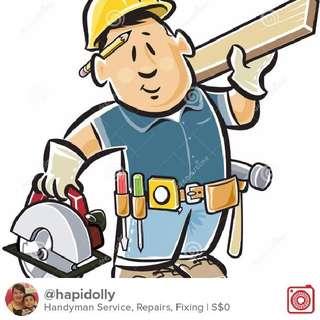 Handyman Service, Repairs, Fixing, Islandwide