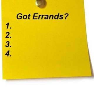 Busy? Need help? We are trustworthy and reliable errand runner... it's just a call away