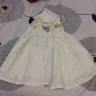 White dress for baptismal