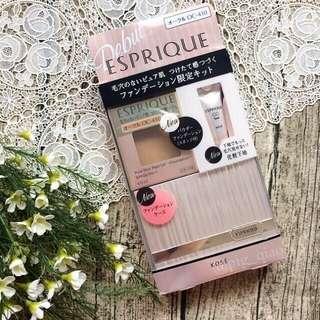 日本ESPRIQUE 丰靡美姬 幻粧 輕透膜幻持粧粉餅 限量粉盒組