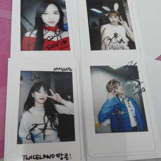 [READY STOCK]Twice Character Pop Up Store Photocard
