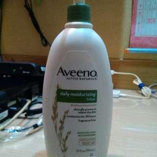 全新!Aveeno高效燕麥舒緩乳液591ml  艾惟諾 好市多 過敏肌 異位性皮膚炎 家庭用 225元