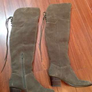 Aldo Suede Knee High Boots