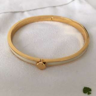 Kate Spade bangle (white)
