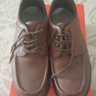 Original Red Wing safety shoes.