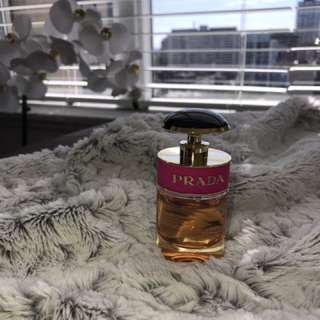 Prada candy perfume lightly used