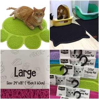 Kit Cat litter trapping mat