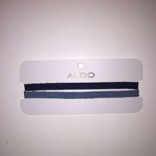 Never been used Denim Aldo Chokers