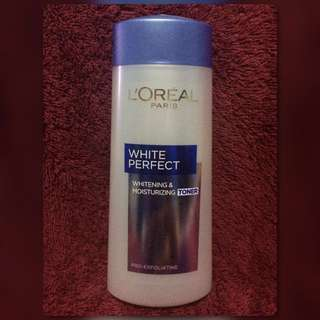 TONER LOREAL PARIS WHITE PERFECT WHITENING