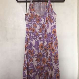 FOREVER 21 Floral Dress in Lilac