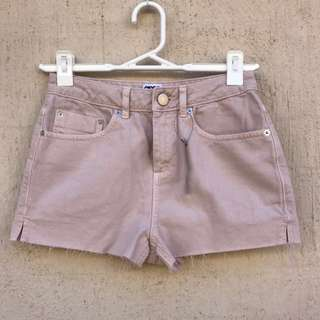 ASOS Pink High Waisted Shorts