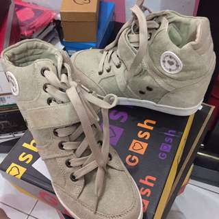 Gosh - Beige Sneakers Wedges Shoes