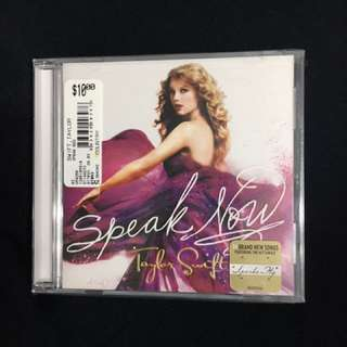 Taylor Swift Speak Now unopened CD