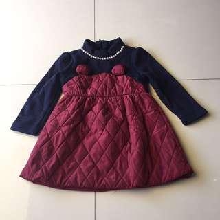 Lil girl winter dress