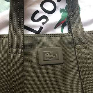 Lacoste tote bag(AUTHENTIC)