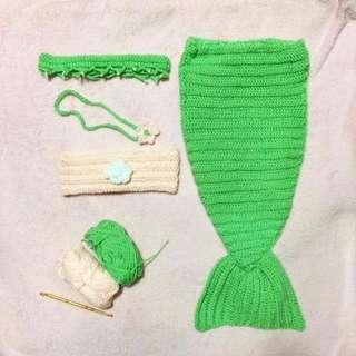 Mermaid set for babies