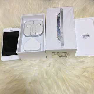 原莊港行貨iPhone 5 32GB White
