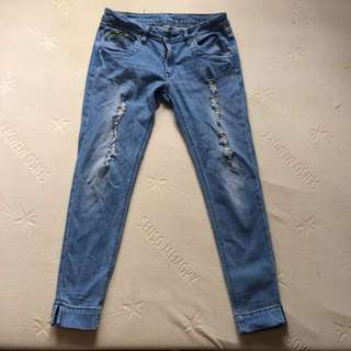 JAG - faded ripped skinny pants/jeans